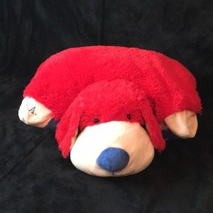 This is a U.S.A dog pillow pet